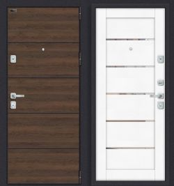 Входные двери Porta M П50.Л22 Tobacco Greatwood/White Softwood Эльпорта (Россия)